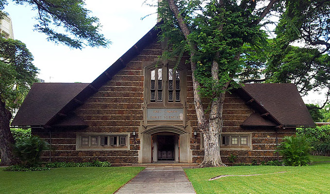 First Church Christ Scientist Honolulu